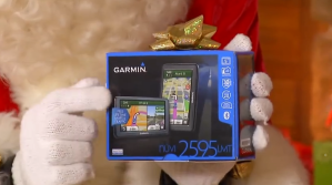 Close up of GARMIN