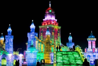 International Harbin Ice and Snow Festival held in Harbin